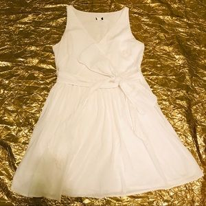 J. Crew White Cotton Sundress